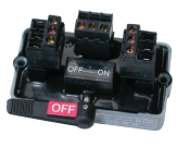 Switch proteted drop connector
